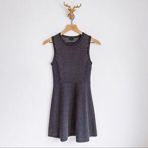 Theory Wool Blend Flare Dress Size P